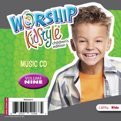 Worship Kidstyle: Children's Music CD Volume 9
