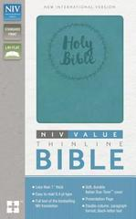 NIV VALUE THINLINE BIBLE STANDARD PRINT