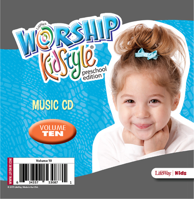 Worship Kidstyle: Preschool Music CD Volume 10
