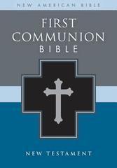 FIRST COMMUNION BIBLE BLACK