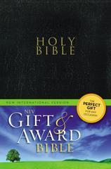 NIV GIFT AN DAWARD BIBLE BLACK