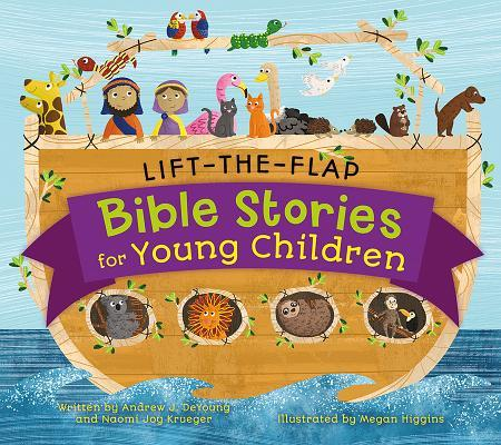 Lift-The-Flap Surprise Bible Stories