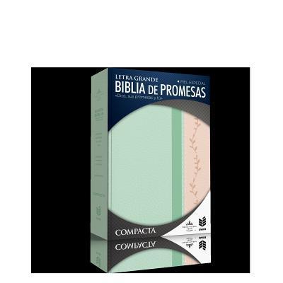 Biblia Ce Promesas/ Compacta / Piel Especial Vintage Con Indice