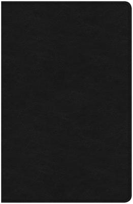 CSB Ultrathin Bible, Black Genuine Leather