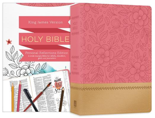 Personal Reflections KJV Bible [Rosegold Bloom]