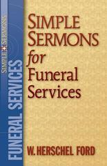 SIMPLE SERMONS FOR FUNERAL SERVICES PAMPHLET