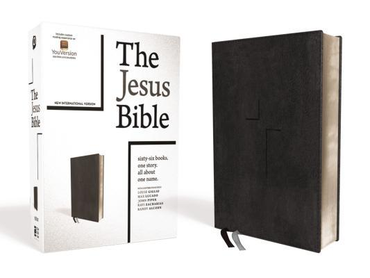 The Jesus Bible, NIV Edition, Imitation Leather, Black