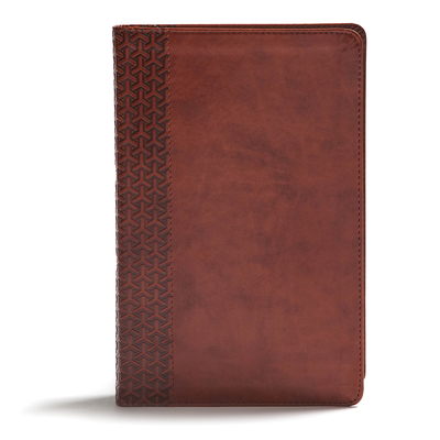 CSB Everyday Study Bible, British Tan Leathertouch