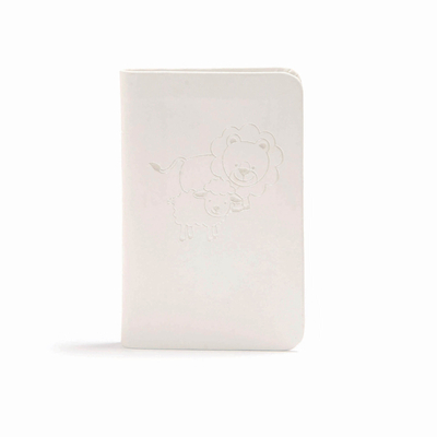 CSB Baby's New Testament with Psalms, White Leathertouch