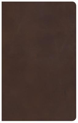 KJV Ultrathin Reference Bible, Brown Genuine Leather