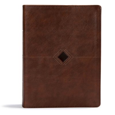 CSB Day-By-Day Chronological Bible, Brown Leathertouch