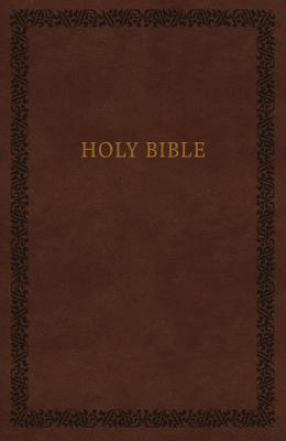 NKJV, Holy Bible, Soft Touch Edition, Imitation Leather, Brown, Comfort Print
