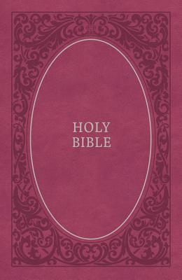 NKJV, Holy Bible, Soft Touch Edition, Imitation Leather, Pink, Comfort Print