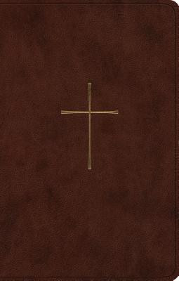 ESV Premium Gift Bible (Trutone, Brown, Cross Design)