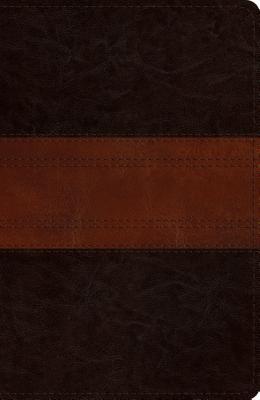 ESV Reference Bible (Trutone, Deep Brown/Tan, Trail Design)