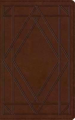 ESV Thinline Bible (Trutone, Chestnut, Wood Panel Design)