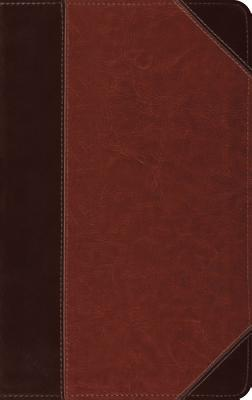 ESV Thinline Reference Bible (Trutone, Brown/Cordovan, Portfolio Design)