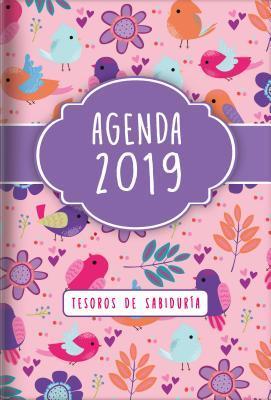 2019 Agenda - Tesoros de Sabiduria: Con Un Pensamiento Motivador O Un Versiculo de la Biblia Para Cada Dia del Ano