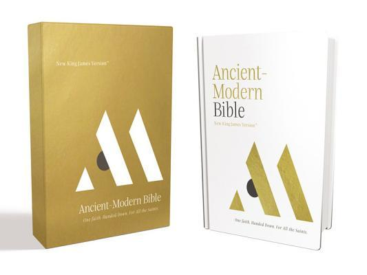 NKJV, Ancient-Modern Bible, Hardcover, Comfort Print
