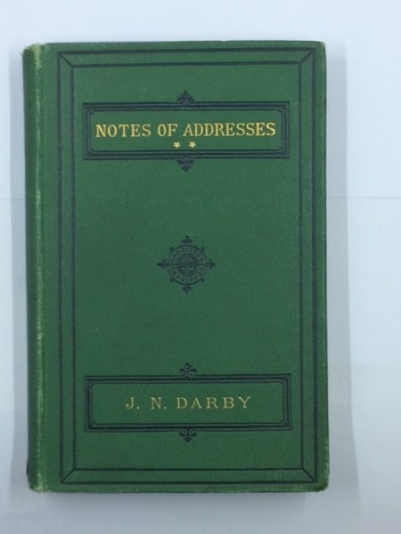 NOTES OF ADDRESSES