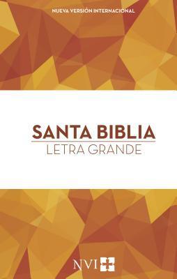 Santa Biblia Nvi, Letra Grande, Tapa Dura