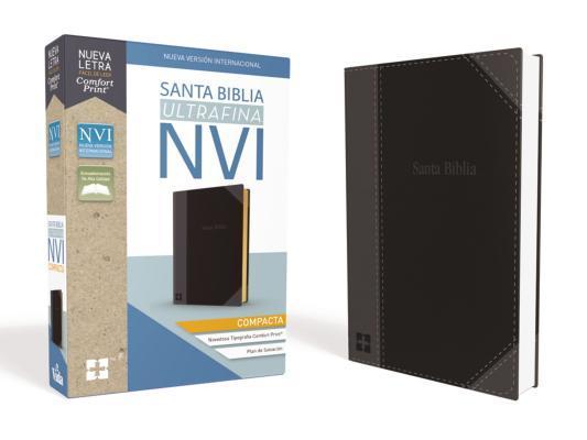 Santa Biblia Nvi, Ultrafina Compacta, Leathersoft, Negra