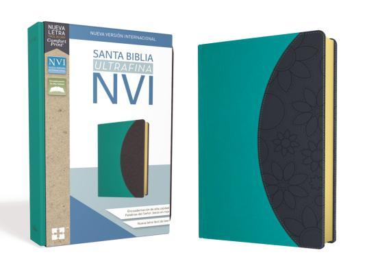 Santa Biblia Nvi, Ultrafina, Lila/Gris