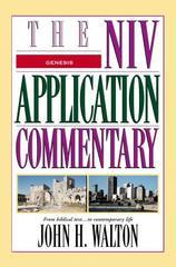 GENESIS THE NIV APPLICATION COMMENTARY