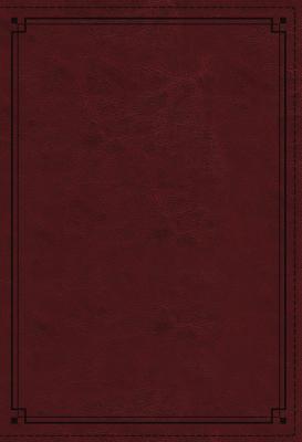 NKJV Study Bible, Imitation Leather, Red, Indexed, Comfort Print