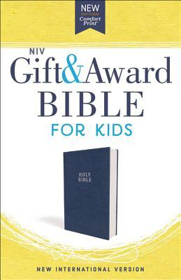 Niv, Gift and Award Bible for Kids, Flexcover, Blue, Comfort Print