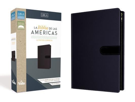 La Biblia de Las Am�ricas Lbla, Ultrafina Compacta, Leathersoft, C/Cierre