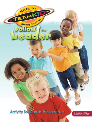 Teamkid: Follow the Leader - Activity Book (3s-Kindergarten)