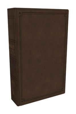 NKJV Study Bible, Imitation Leather, Brown, Red Letter Edition, Comfort Print