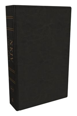 NKJV Study Bible, Imitation Leather, Black, Full-Color, Red Letter Edition, Comfort Print