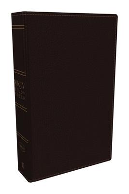 NKJV Study Bible, Premium Bonded Leather, Burgundy, Red Letter Edition, Comfort Print