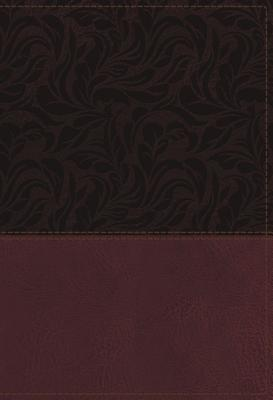 NKJV Study Bible, Imitation Leather, Red, Full-Color, Red Letter Edition, Indexed, Comfort Print