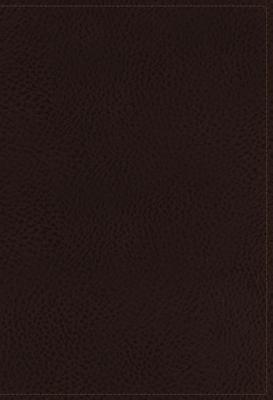 The NKJV, Open Bible, Imitation Leather, Brown, Indexed, Red Letter Edition, Comfort Print