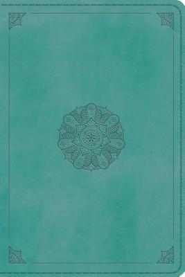 ESV Personal Reference Bible (Trutone, Turquoise, Emblem Design)