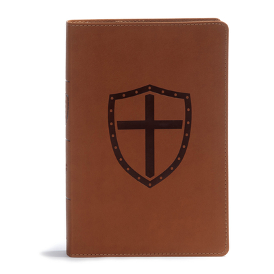 CSB Defend Your Faith Bible, Walnut Leathertouch
