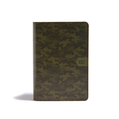 CSB On-The-Go Bible, Green Camouflage