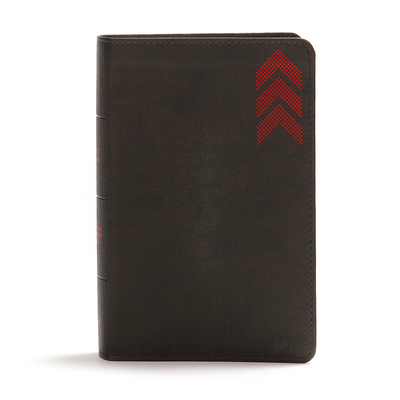 CSB On-The-Go Bible, Charcoal Arrow
