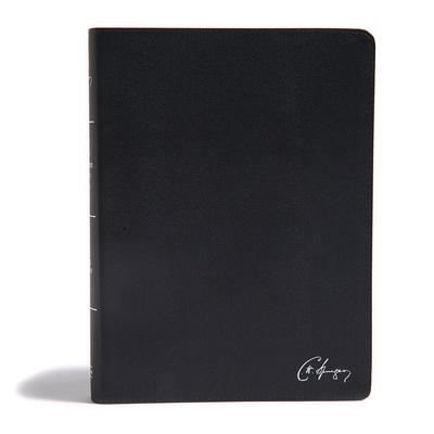 KJV Spurgeon Study Bible, Black Genuine Leather