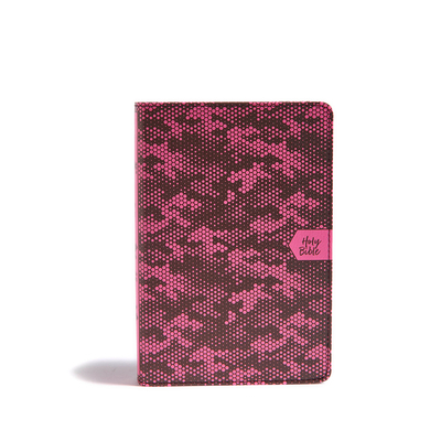 CSB On-The-Go Bible, Pink Camouflage