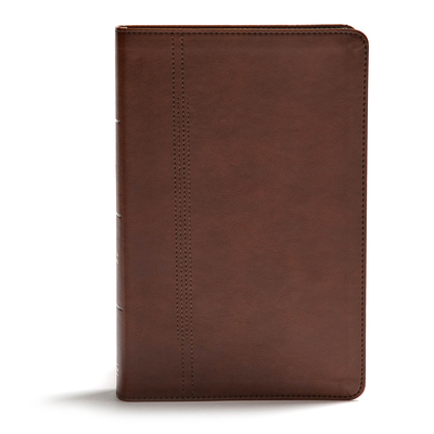 CSB Restoration Bible, Brown Leathertouch
