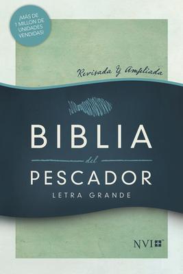 NVI Biblia del Pescador Letra Grande, Verde Tapa Dura