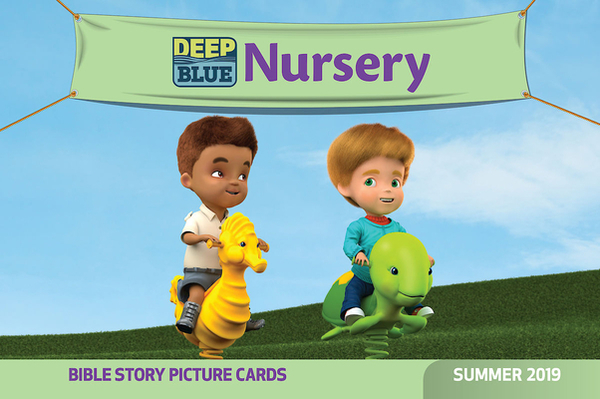 Deep Blue Nursery Bible Story Picture Cards Summer 2019