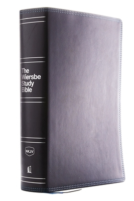 Nkjv, Wiersbe Study Bible, Leathersoft, Black, Comfort Print
