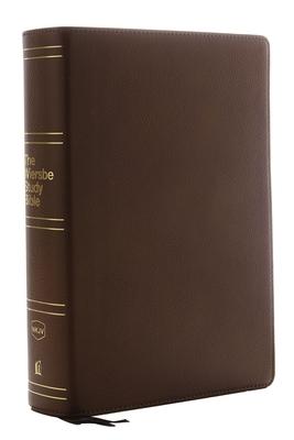 Nkjv, Wiersbe Study Bible, Genuine Leather, Brown, Indexed, Comfort Print