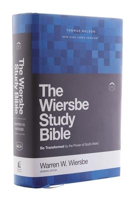 Nkjv, Wiersbe Study Bible, Hardcover, Comfort Print