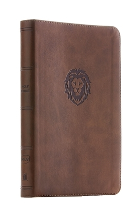 Nkjv, Thinline Bible Youth Edition, Leathersoft, Brown, Red Letter Edition, Comfort Print